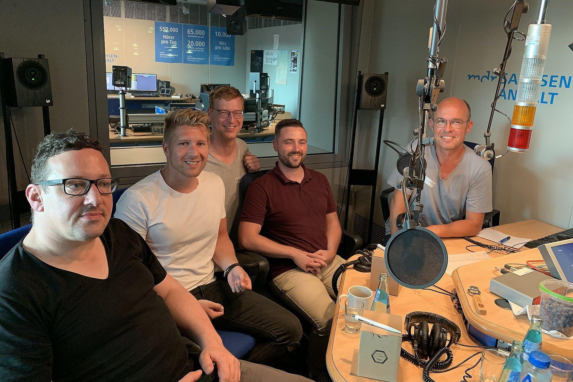Martin Menz im Gespräch beim MDR-Podcast